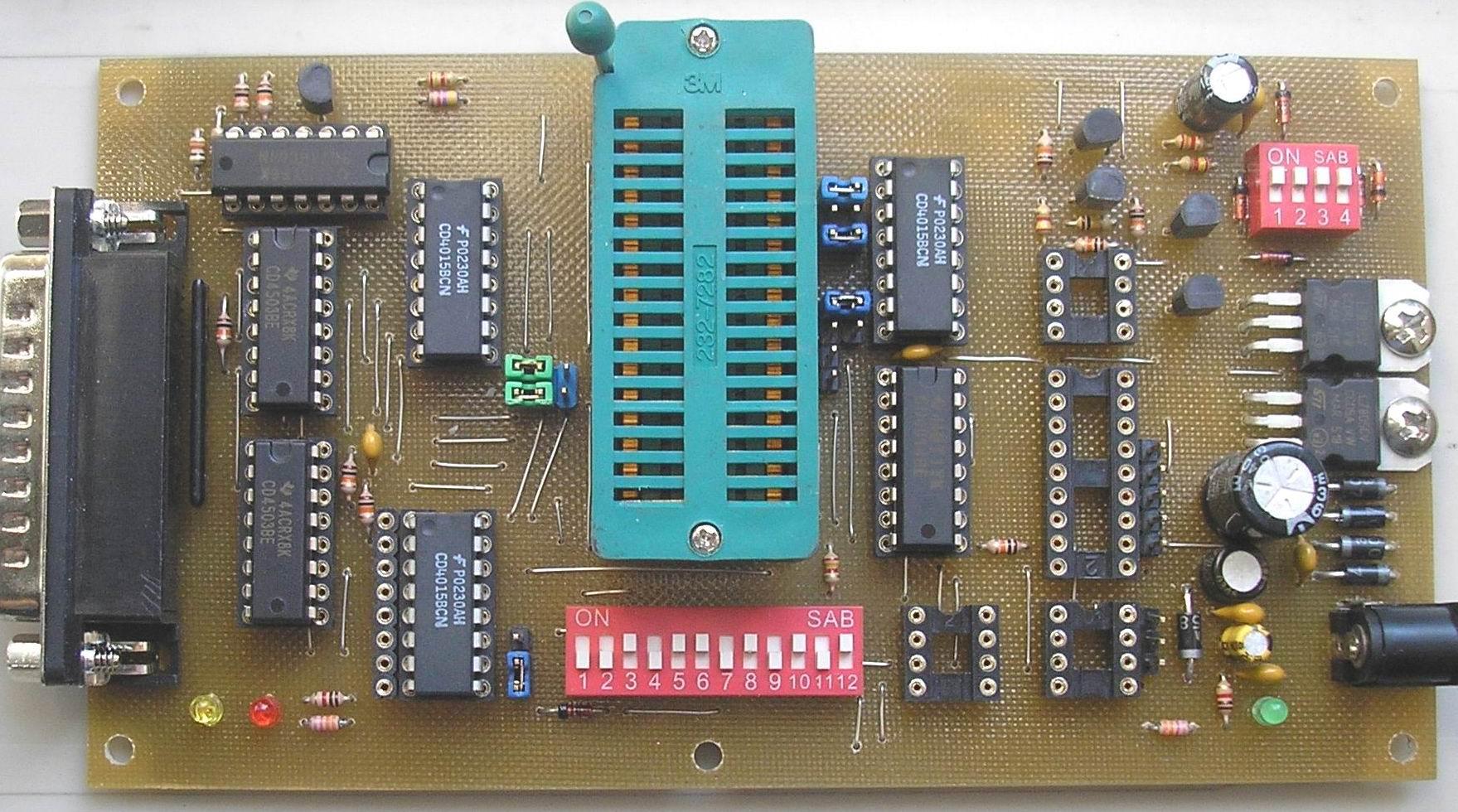 Plcc32 программатор своими руками фото 523